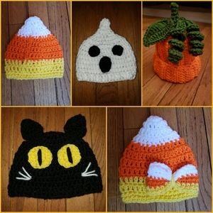Crochet Baby Halloween Hats